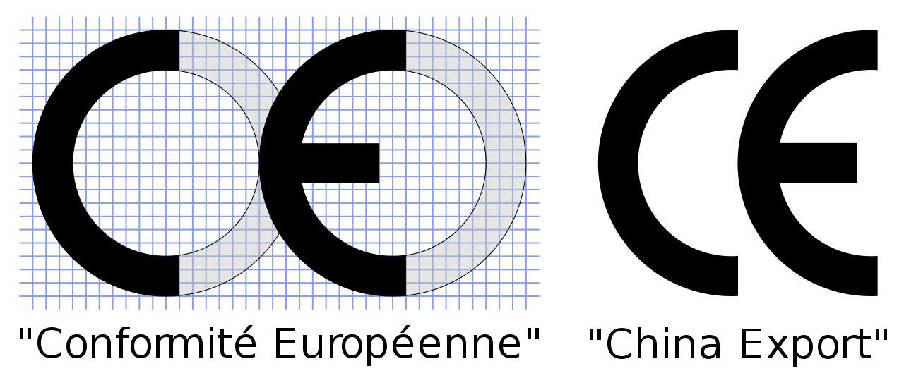 Comparison of two used CE marks