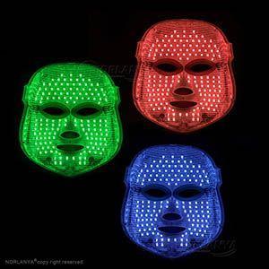 rood licht groen licht blauw licht therapie maskers en apparaten